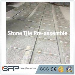 G603/G654/G682 화이트/그레이/블랙/옐로우 그래나이트/베이스/석회암 바닥/벽 클래딩/계단/계단/풀 스코핑 스톤 타일 포장