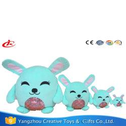 Conejo lentejuelas almohadas para abrazo
