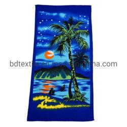 Настраиваемые Sublimated цифровой печати 70*140 ткань из микроволокна полотенце на пляже