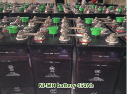 Ni-MH Square Bateria Industrial 450Ah 380V