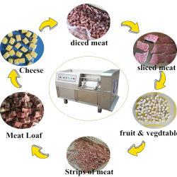 직업적인 가득 차있는 자동적인 신선한 언 고기 절단기