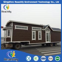Petite maison préfabriquée avec des roues sur la vente