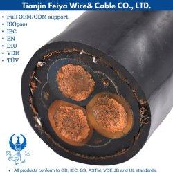 Mcp 0.66/1.14кв Pcg луженого медного провода выключателя ЦЗ резиновые экранированный гибкий кабель питания провод для угольной промышленности машины Electricl кабель коаксиальный кабель