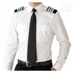 100% قطر قميص بيضاء مع [إبولتّ] أمن حارس بدلة