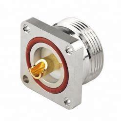 DIN femelle câble coaxiaux RF 7/16 DIN Connecteur femelle fût à souder