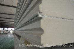 Aislamiento superior el material de calor de paneles sándwich PU