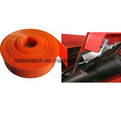 Rote Ebene, die Futter-Blatt-Förderanlagen-Fußleisten-Gummiauflage-Fußleisten-Vorstand-Gummirand für Förderanlage umsäumt