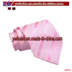 Partei-Feld-Streifen-Silk klassische gesponnene Silk Krawatten-Halsbekleidung (B8024)
