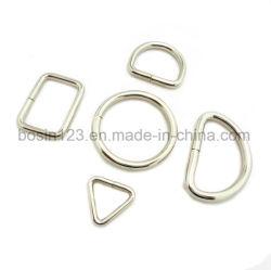 Venda por grosso de moda de travamento do anel de metal