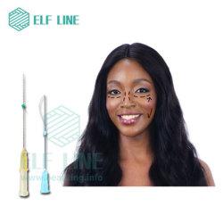 La línea de Elf Primer antienvejecimiento Pdo de elevación de roscas finas agujas para el rostro y cuerpo