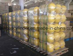 140LTR Gasfles 8-4 van het voertuig CNG met Strikte Kwaliteitsbeheersing