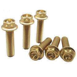 Commerce de gros de haute qualité vis à tête cylindrique plate de fixation en acier inoxydable