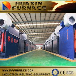 1.5T Gw1.5t-900kw/1s nuevo medio de inducción de frecuencia en el horno de fundición de colada fundido para fundir Stee/hierro/aluminio/cobre/zinc/oro/plata/cristal