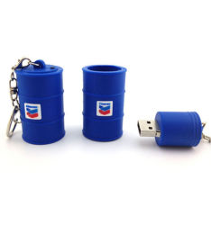 Hoogste Electronics Gifts Oil Bottle USB Stick 128MB aan 64GB USB 2.0 voor Promotional Items
