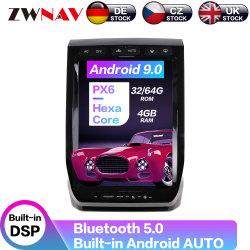 フォードのRaptor F150 2015-2019のアンドロイド9.0のマルチメディアプレイヤーPx6 GPSの可聴周波自動ステレオのヘッド単位CarplayのためのカーラジオのDVDプレイヤー
