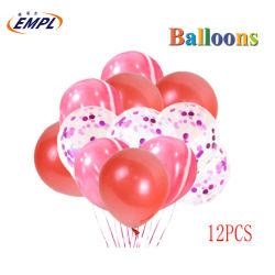 12PCS 膨張性ラテックスバルーンバルーンバルーンバルーン広告パーティー用品