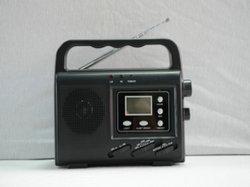 Kurbel-Dynamo- Radio- Solarlaterne mit UKW-Radio