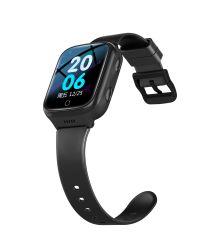 4G قياس دقيق لدرجة الحرارة لـ Smart Health Watch الجديدة، تحديد موقع GPS، منبه SOS، مكالمة فيديو عالية الدقة شاهد مكالمات هاتف Android المحمولة