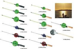Ice all'ingrosso Fishing Rod e Reel Combo