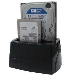 Stazione di aggancio doppia di allegato del USB 3.0 HDD con il RAID ed una funzione di riserva chiave