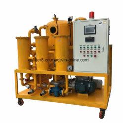Double huile diélectrique usagée vide du filtre à huile de transformateur de la machine (ZYD-150)