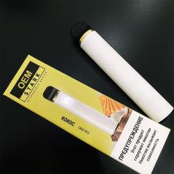 2%(20mg) 1800 퍼프 도매 공장 판매 일회용 에고 전자담배 Vape 포드