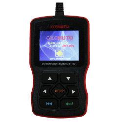 Lector de código de la Motocicleta Lector de código automático Mst-601 OBDII EOBD/OBD2 de Escáner Escáner de vehículo Eobd Lector de códigos de avería del motor de automoción
