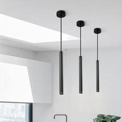 قلادة طويلة من الشمال تصميم ضوء الذهب مصباح حديث من الألومنيوم غرفة الطعام غرفة المعيشة مصباح الدلاية (WH-AP-159)