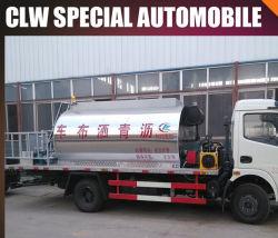 A pulverização de betume Clw Caminhão Distribuidor de asfalto caminhão caminhão tanque de asfalto