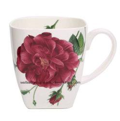 خزفيّة طويلة قهوة شاي [بون شنا] إبريق مع ملصق مائيّ ([كببز-4012])
