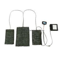Nouveau vêtement chauffant gilet chauffage infrarouge lointain chauffage en fibre de carbone Tampon chauffant en fibre de carbone japonais en feuilles
