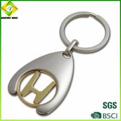 Veicolo per il trasporto del metallo di disegno di marchio di 2019 abitudini Keychain per il regalo di promozione