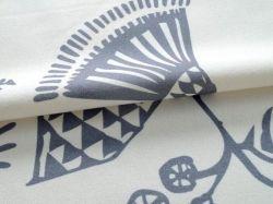Preto escandinavos e flores brancas estilo nórdico imitação roupa de algodão meia cortina de sombreamento