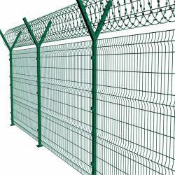 الحديد الصلب الملحوم السلك النسيج المعدني الأمن حديقة الجدار بناء سور السجن