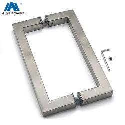 Quadratisches Form-Badezimmer-Glastür-Einstiegstür-Griff