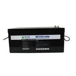Elite OEM 딥 사이클 리튬 배터리 12V 24V 36V 48V 72V 100ah 200ah 300ah 400ah Li-on LiFePO4 배터리 용기/캐러밴/투어링 카 /EV/AGV/선박 배터리