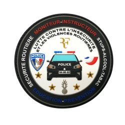 3D en PVC souple en caoutchouc personnalisé Patch Logo avec prix d'usine