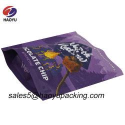 MattFastfood- Reißverschluss-Verschluss-Plastikbeutel für Schokoladen-verpackenbeutel mit wiederversiegelbarem Reißverschluss