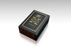 Nouveau design de luxe de haute qualité personnalisés cadeau vide de l'artisanat en bois Emballage