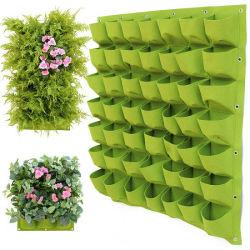 Jardim Vertical Plantadeira, Wall-Mounted Sacos de Plantio cabides Piscina Piscina Produtos hortícolas Flores Recipiente crescente POTS