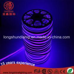 Le SMD2835 Lumière de corde 12V 220V souple étanche Bande LED Lampe néon