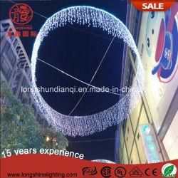 Indicatore luminoso della stringa della tenda del ghiacciolo di natale di festa 220V del LED per la decorazione di cerimonia nuziale