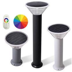 Apricus أفضل سعر IP65 ضوء الحديقة الشمسية مع وحدة التحكم الذكية