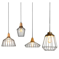 Creative Matériau métallique Décoration de lampe de la poignée de commande pour le Bar/Café/Corridor lustres/salle à manger moderne élégant de l'éclairage des feux