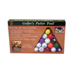 Golfball mit Billiard-Kugel-Drucken, Förderung waagerecht ausgerichtet (B07201)