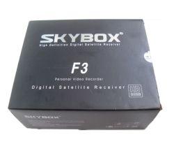 2013 новейший исходного цифрового спутникового ресивера Cccam Skybox F3 /небо в салоне F3 HD небо в салоне