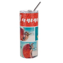 Umweltfreundliche Dosen-Sublimation für Sport formte doppel-wandige Edelstahl-Metalltrinkwasser-Flasche mit kundenspezifischem Firmenzeichen
