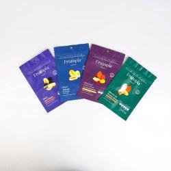 패키지 공급자 인쇄 Zipper Ziplock 라미네이트 스탠드 업 파우치 크라프트 냉동 바다 음식 종이 플라스틱 포장 커피 차 간식 과일 담배 포장 가방