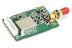1W Módulo de rádio sem fio de dados Gfsk 433MHz/868MHz/915MHz Module