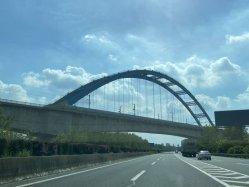 Puente de acero de ferrocarril de prefabricación personalizado